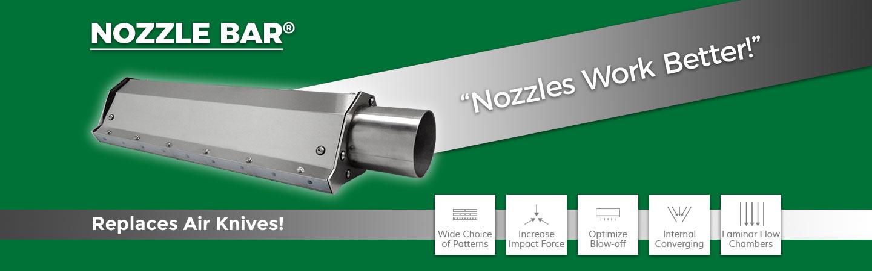 nozzle bar