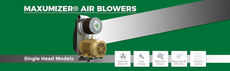 single head air blowers